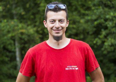 Zalewski Mateusz – inżynier automatyki i robotyki, student informatyki. Jego zainteresowania to robotyka, militaria, survival, fireshow i ASG.