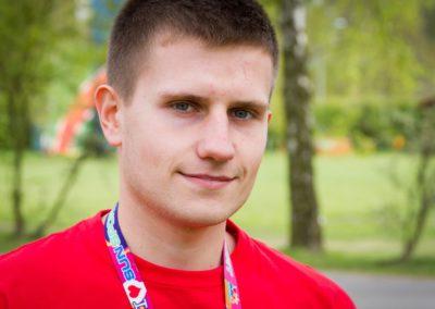 Next  Tomasiuk Kamil - student budownictwa PWSZ w Kaliszu. Jego zainteresowania to pływanie, nurkowanie, ratownictwo wodne i fotografia. Ma dobry kontakt z dziećmi i zawsze czuwa nad ich bezpieczeństwem oraz dobrym samopoczuciem.
