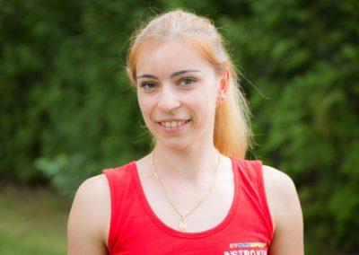 Wyrobek Sabina - studentka AWF w Katowicach na kierunku Wychowanie Fizyczne i Gimnastyka Korekcyjna oraz Funkcjonalny Trening zdrowotny osób w średnim i starszym wieku. Jej zainteresowania to piłka nożna, tenis stołowy oraz muzyka.